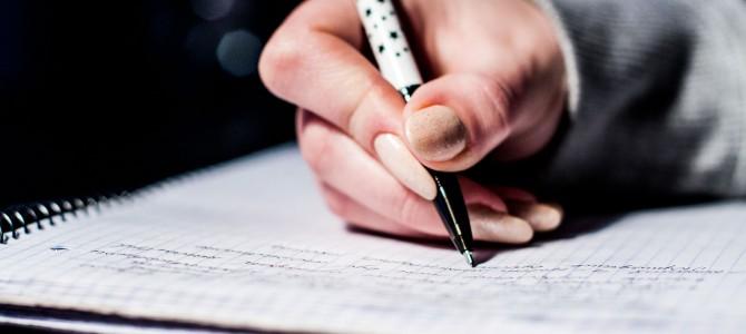 浮気を見破るために日記を書く